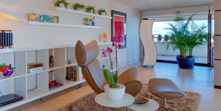 10. Luxury Beach Side Penthouse Marbella