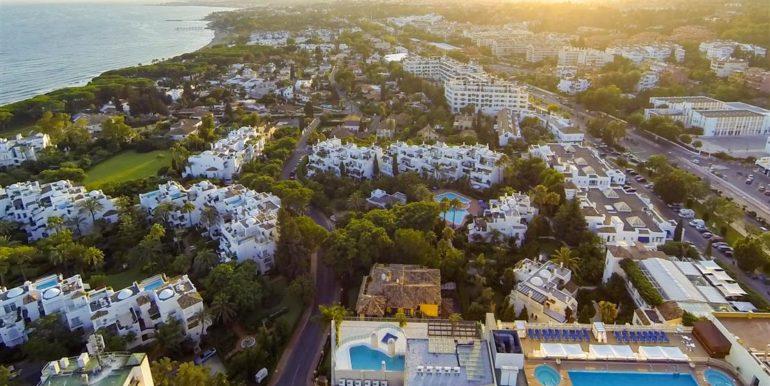 6. Luxury Beach Side Penthouse Marbella