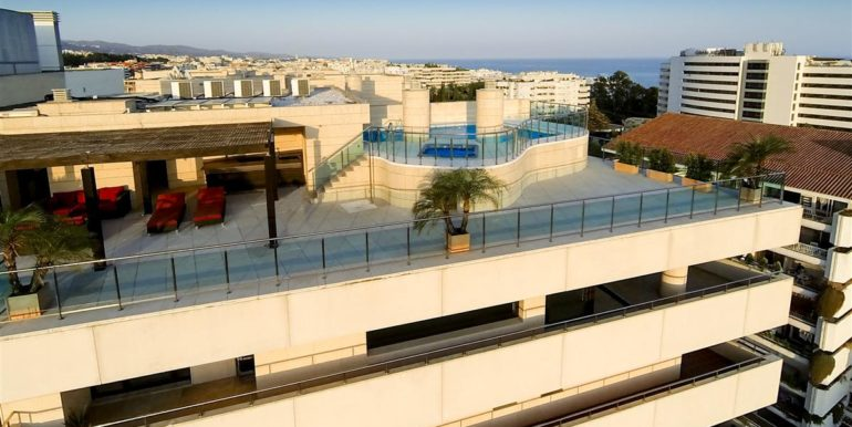 14. Luxury Beach Side Penthouse Marbella