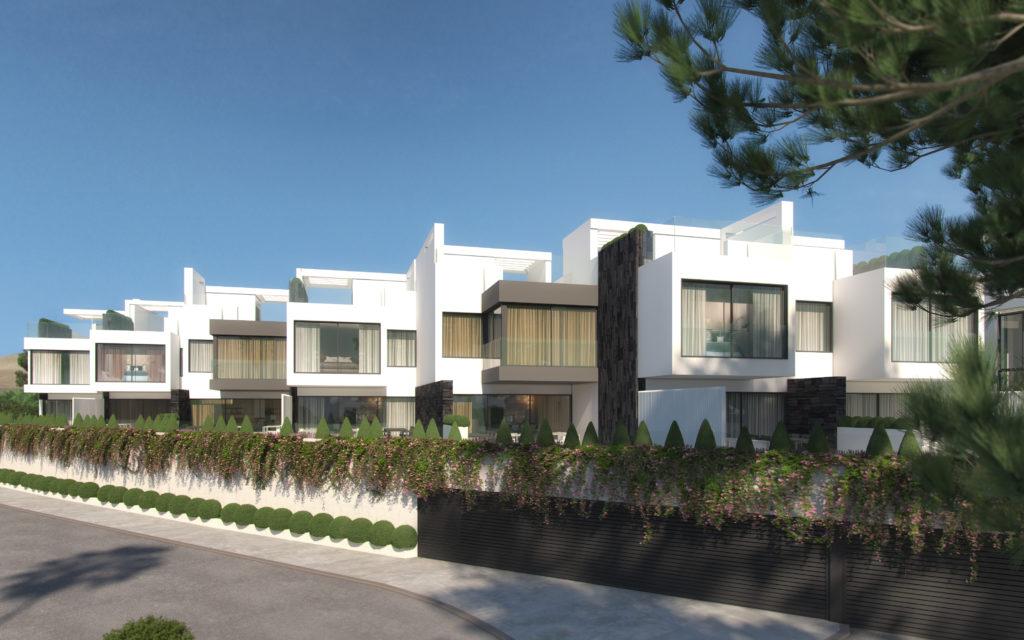 Front Line Townhouses Estepona